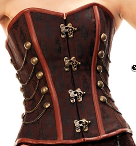 67360e64203 more latched corset closures   Steampunk Clothing   Hats from Cloak   Dagger  Creations
