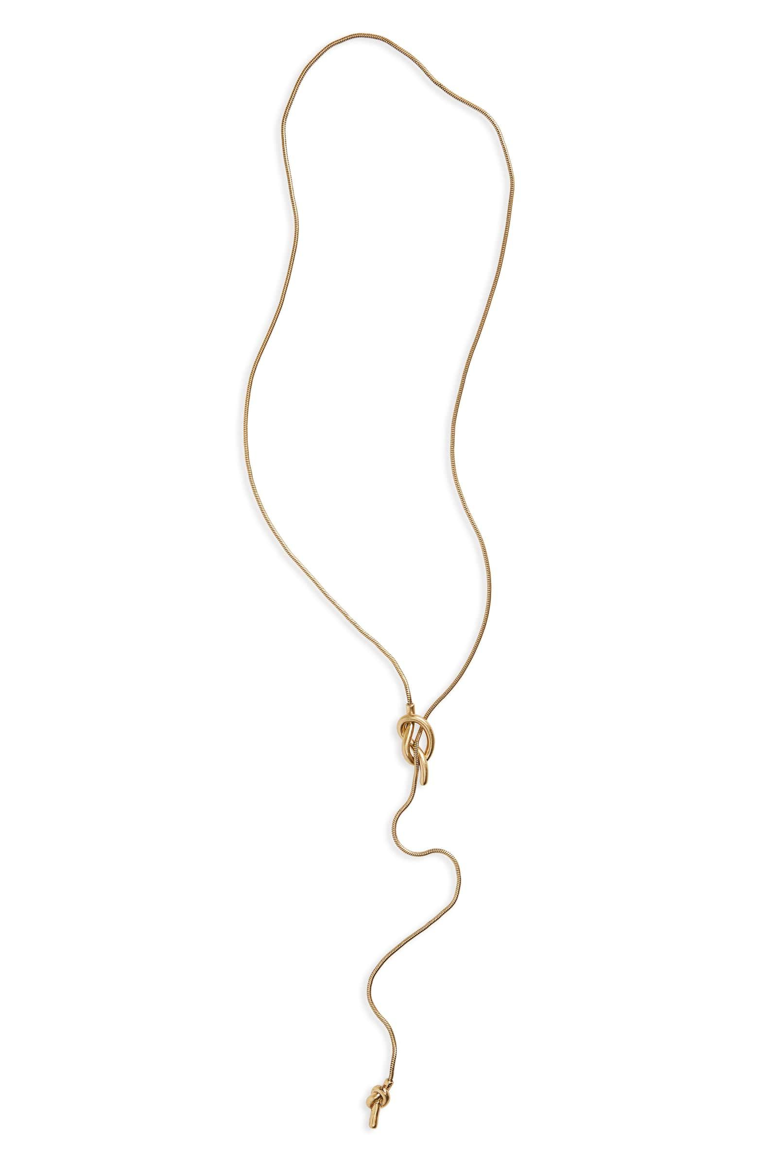 ab98e07d1d3b6 Knotshine' Necklace from Nordstrom $32   For Tanya D.   Jewelry ...