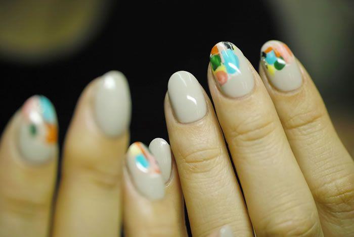 Nail Common Mix Contemporary Nail Nail Art Japanese Pinterest