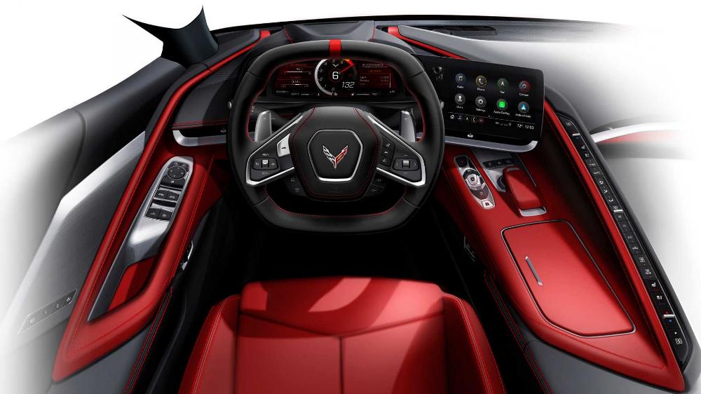 2020 Chevrolet Corvette C8 Red Car Wallpaper 4k Chevrolet Corvette Corvette Chevrolet