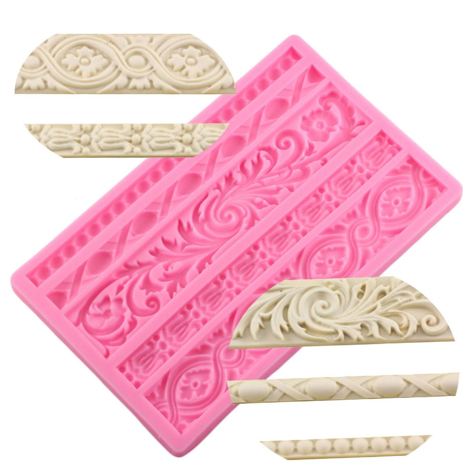 DIY 3D Feather Silicone Mold Cake Baking Chocolate Mold Fondant Mould Decoration
