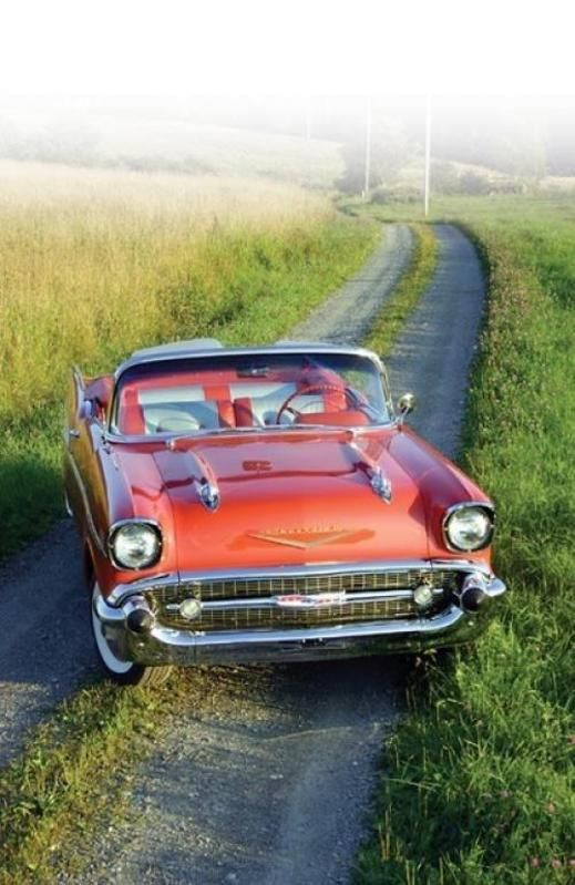 1957 Chevy Convertible..Re-pin brought to you by agents of #Carinsurance at #HouseofInsurance in Eugene, Oregon