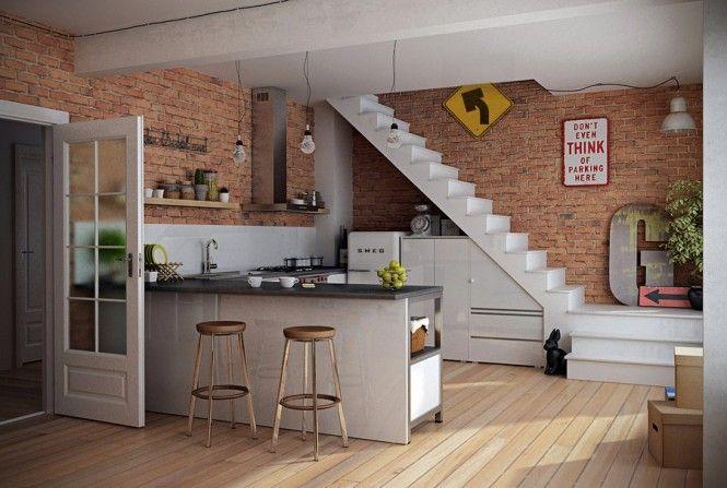 Modern Bespoke Kitchen Units Design: Open Kitchen Shelves Inspiration: Time to Tidy Up ~ peterdenahy.com Architecture Inspiration