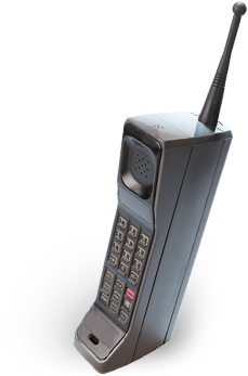 Download Hd 1990 S 90 S Cell Phone Png Transparent Png Image Nicepng Com Phone Vintage Phones Cell Phone