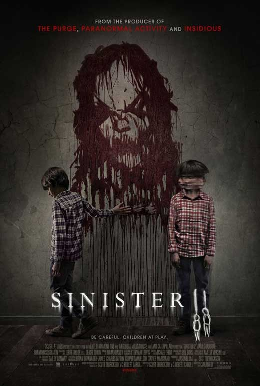 Sinister 2 27x40 Movie Poster 2015 With Images Scary Movies