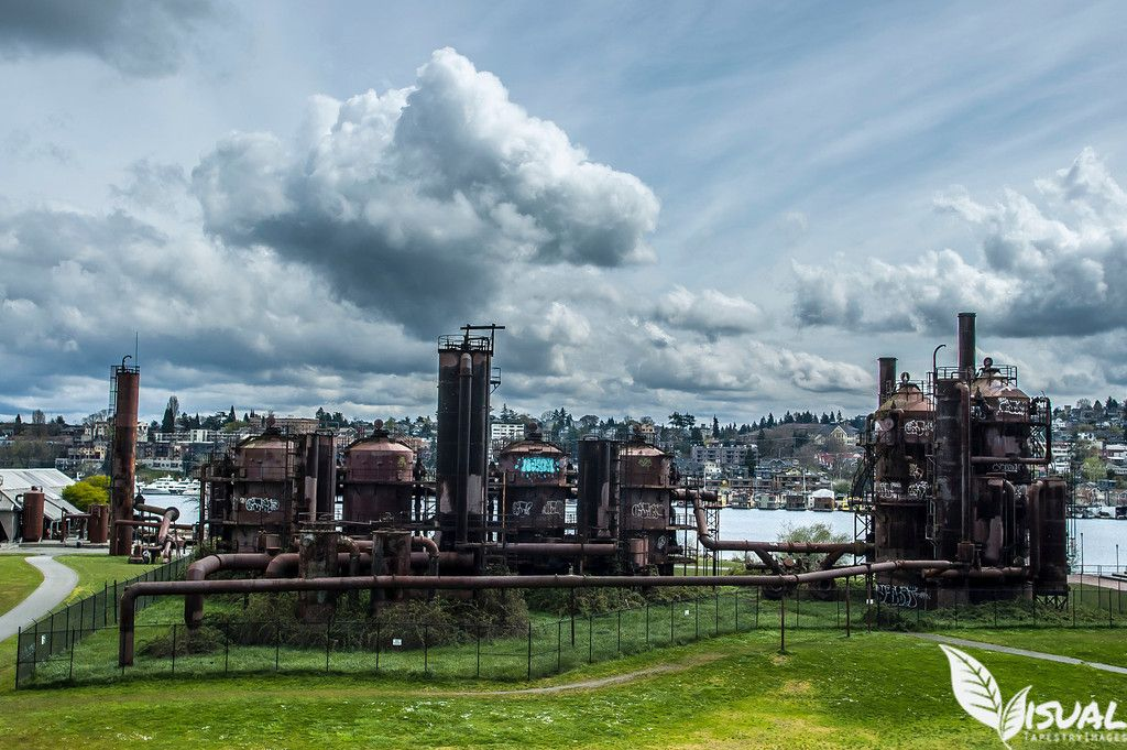 Seattle Map Redmond%0A This is at Gasworks in Seattle  WA  It u    s an abandoned building but the  surrounding
