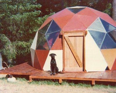 Retro dome house