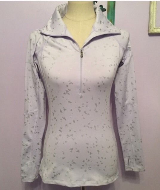 Under Armour Pullover Jacket Coldgear Lavender Silver NWT Size Small S #UnderArmour #CoatsJackets