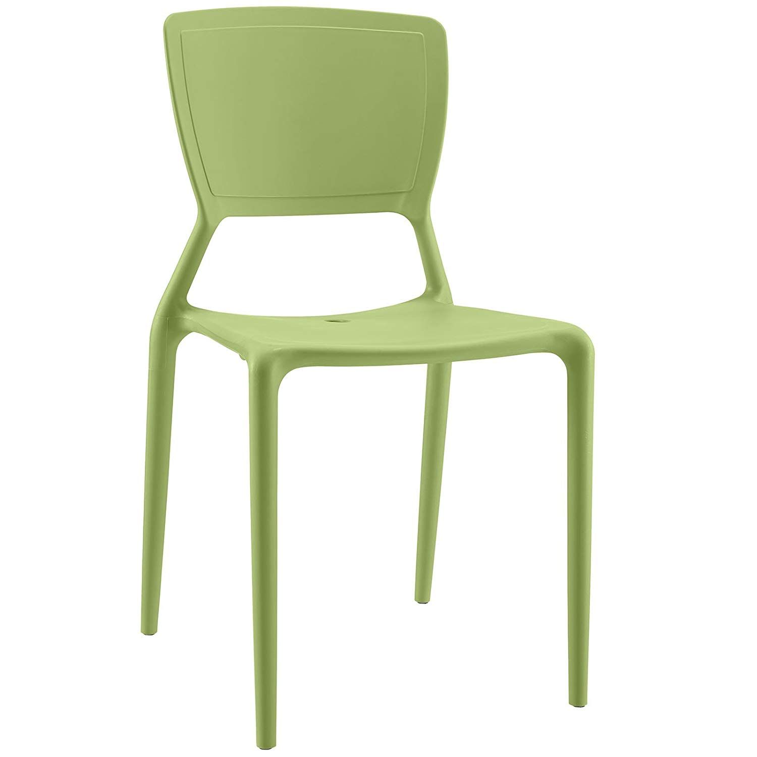 Modway Fine Dining Side Chair In Green In 2020 Side Chairs