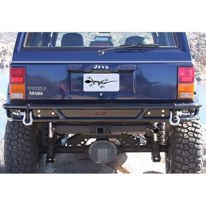 Or Fab Rear Tube Bumper Cherokee Xj Rock Solid Off Road