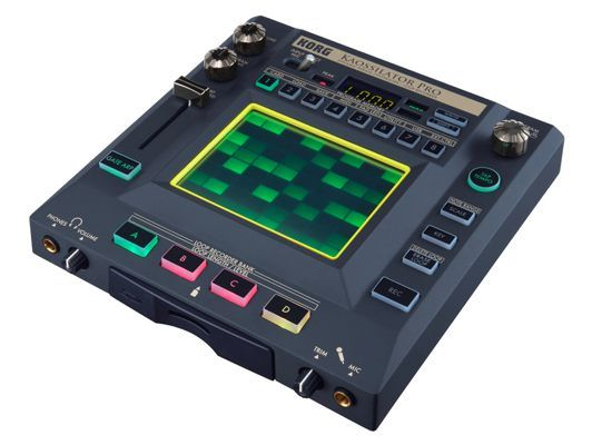 The Korg Kaossilator Pro.  A synthesizer descended from the Kaoss pad.  Manipulates, samples, loops, and sequences.  Awesome.