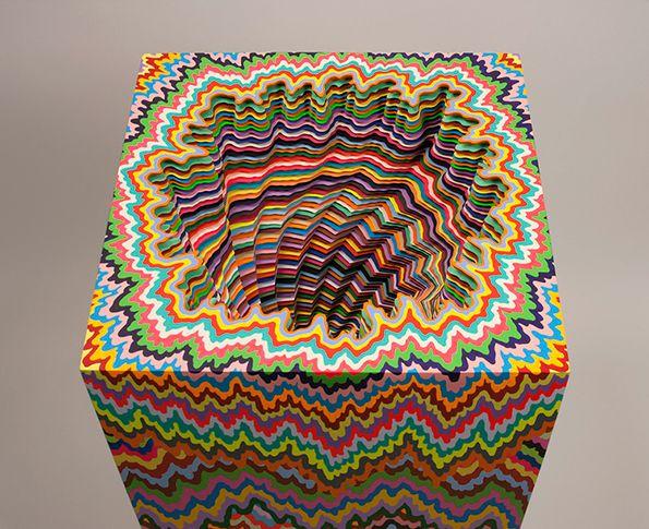 Source Itsnicethatcom Art Pinterest Jen Stark And - Mesmerising hand crafted paper sculptures jen stark