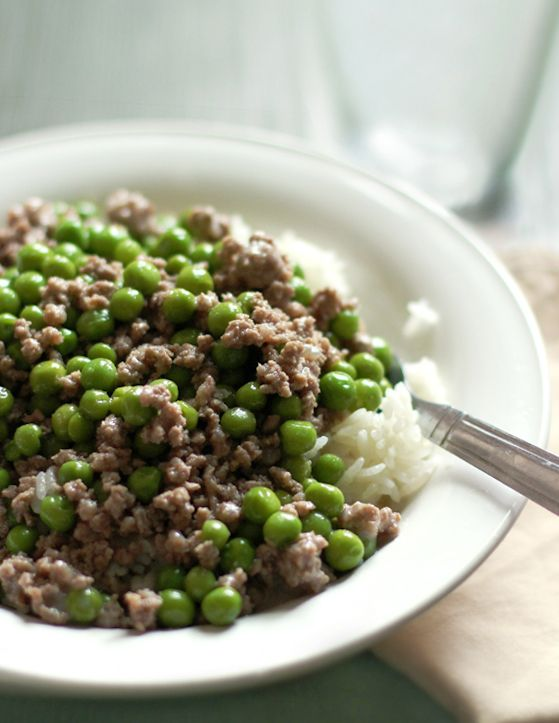 Ground Beef And Peas Worthcooking Net Recipe Ground Beef And Peas Recipe Beef Beef And Rice