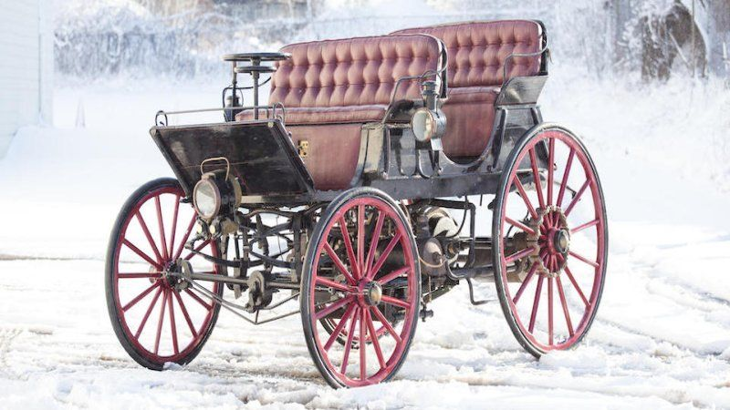 World's first hybrid, built in 1896, goes up for auction