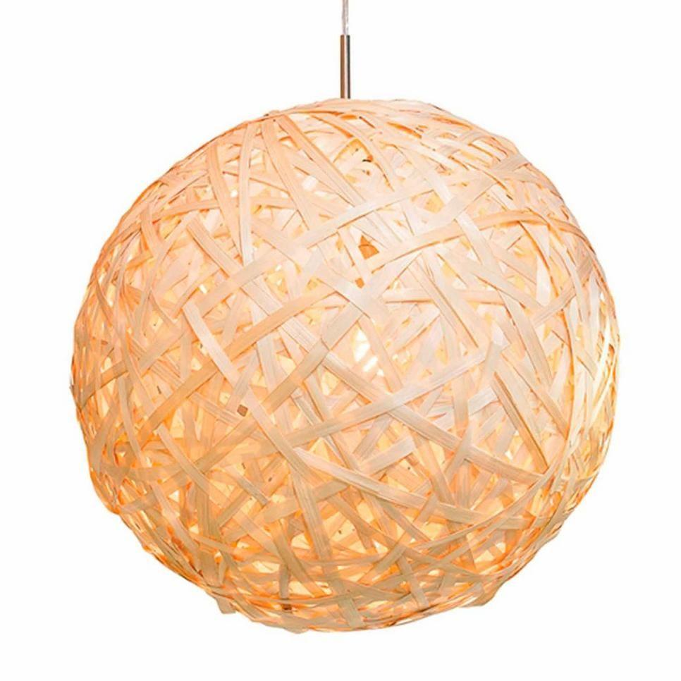 It\'s about RoMi hanglamp Kyoto M, Naturel bamboe | Verlichting ...