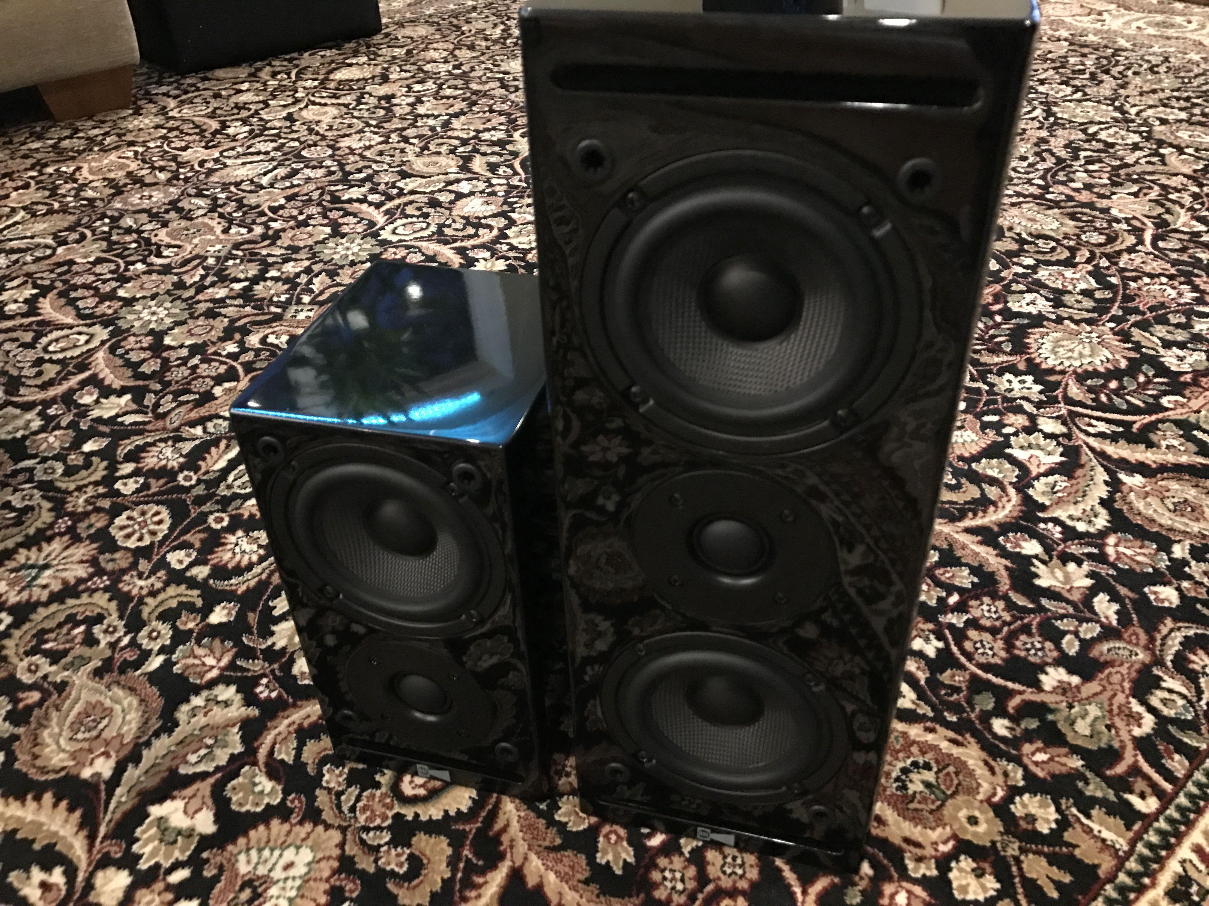 RSL CG3 loudspeaker system speakers Review with Audioholics