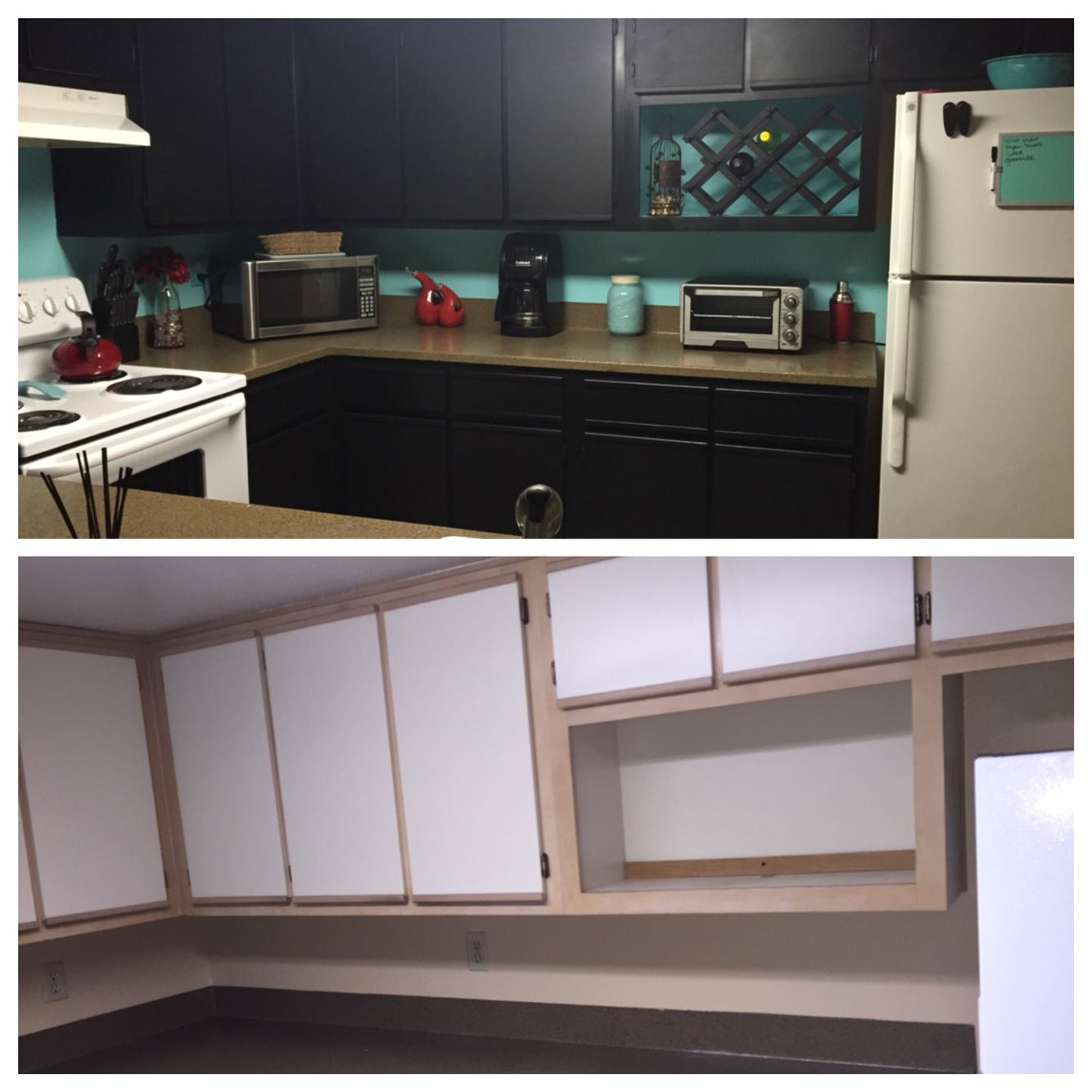 40 Brilliant Under The Stairs Employment Ideas: Before And After With Rustoleum Cabinet Kit