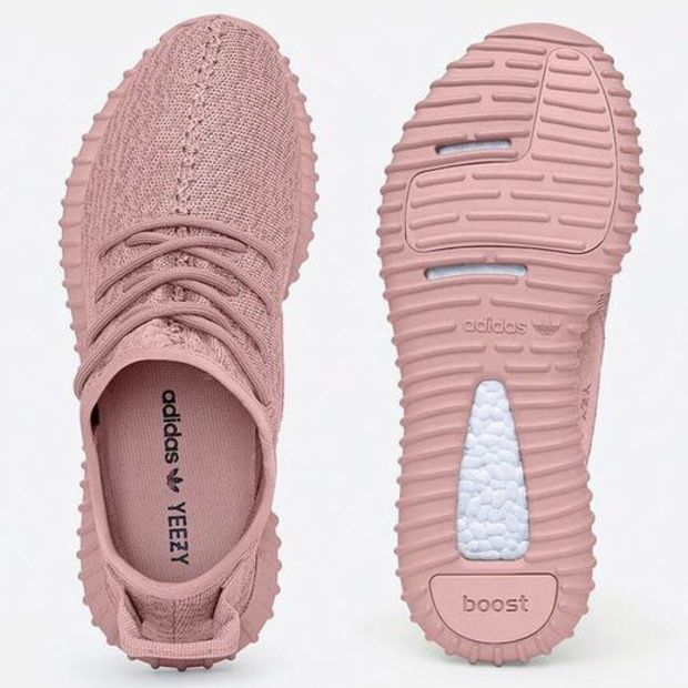 promo code 036e8 c31b8 Yeezy Boost 350 All Pink Women Sneakers ❤ liked on Polyvore featuring shoes,  sneakers, pink sneakers and pink shoes   My Polyvore Finds   Adidas shoes,  ...