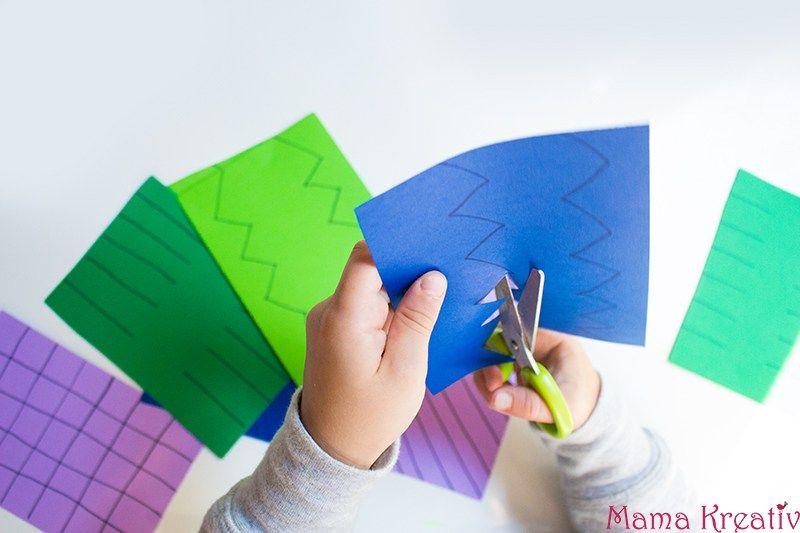 schneiden lernen mit kindern 10 einfache ideen  mama