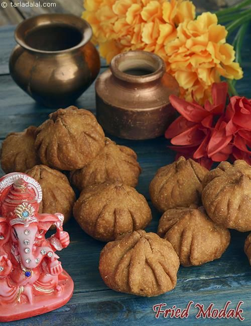Fried modak recipe recipes indian desserts and food easy sweets forumfinder Images