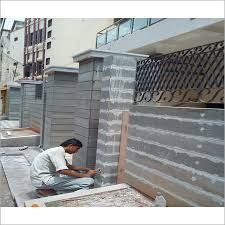 Image Result For Compound Wall Designs In Kerala Compound Wall Compound Wall Design Wall Design