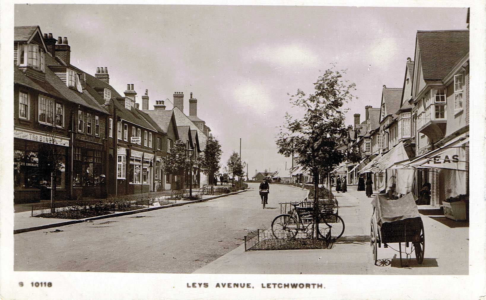 Letchworth Garden City The town was laid out by Raymond