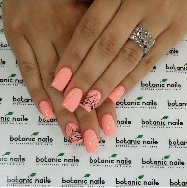 Nail Art 495 Best Nail Art Designs Gallery Bestartnails Com Coral Nails With Design Pink Nails August Nails