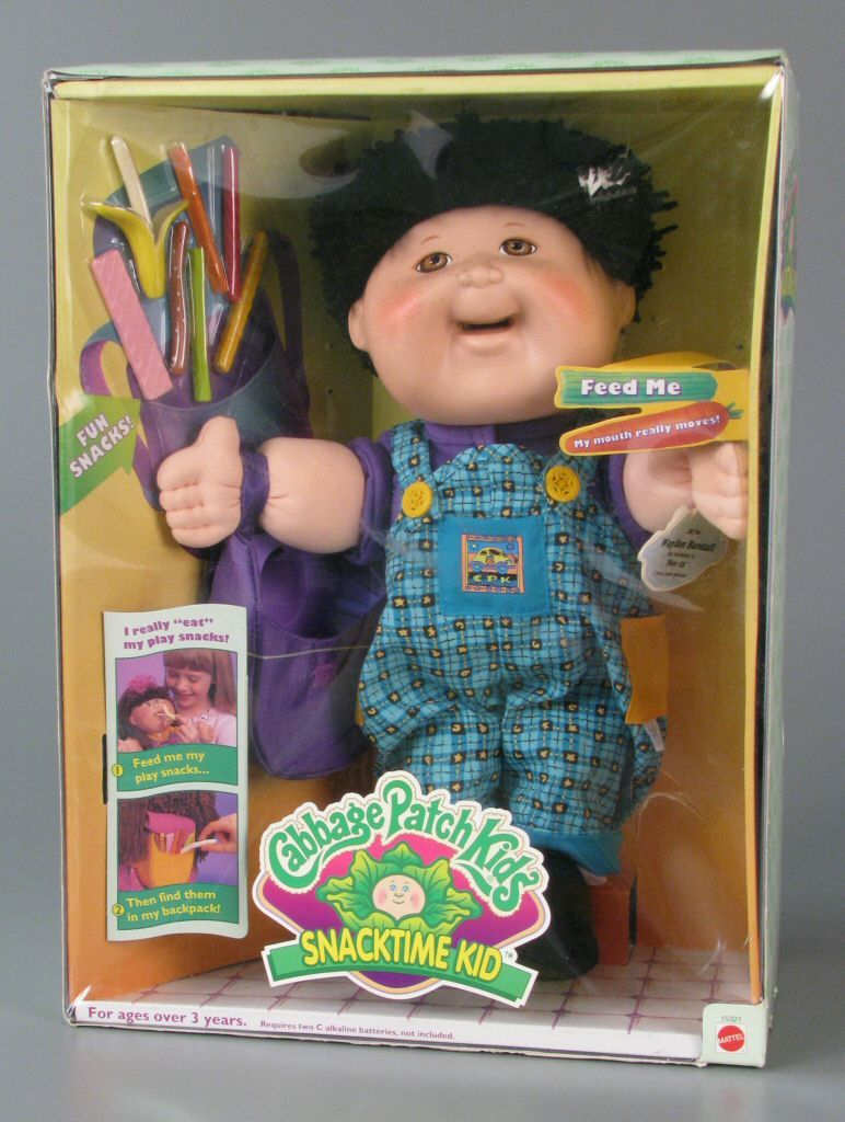Snacktime Cabbage Patch Kids Their Mouths Actually Moved I Think They Got Recalled Too