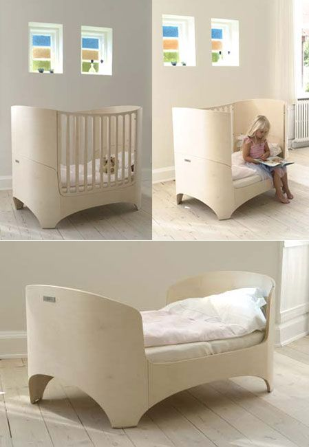 Exceptional Leander: Cradle, Crib, High Chair, Changing Table