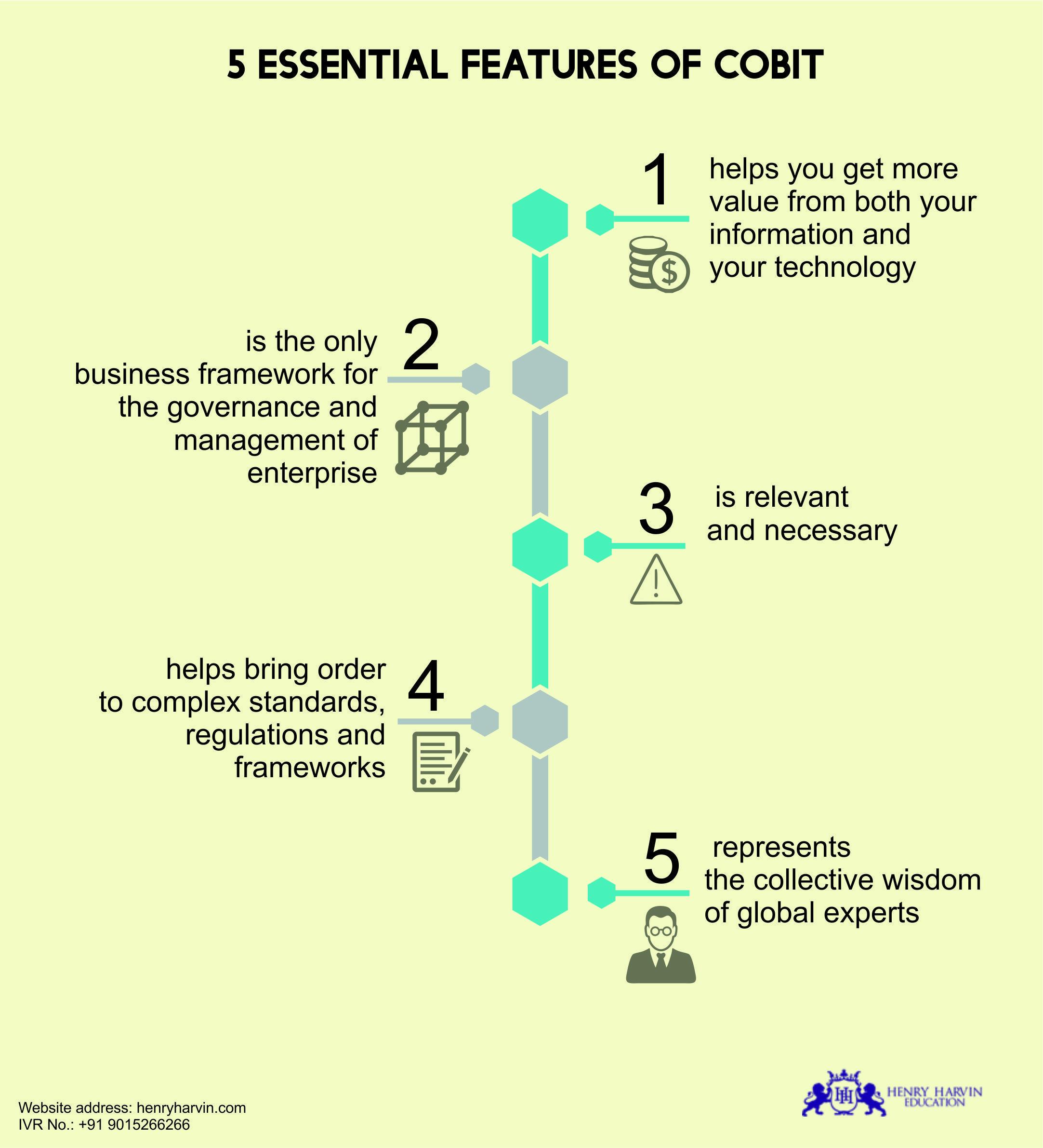 5 Essential Features Of Cobit Essentials