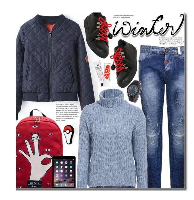 """""""Sweater Weather (school style)"""" by beebeely-look ❤ liked on Polyvore featuring HIGH, Tod's, Kiehl's, Barry M, BackToSchool, Sweater, schoolstyle, sammydress and wintersweater"""