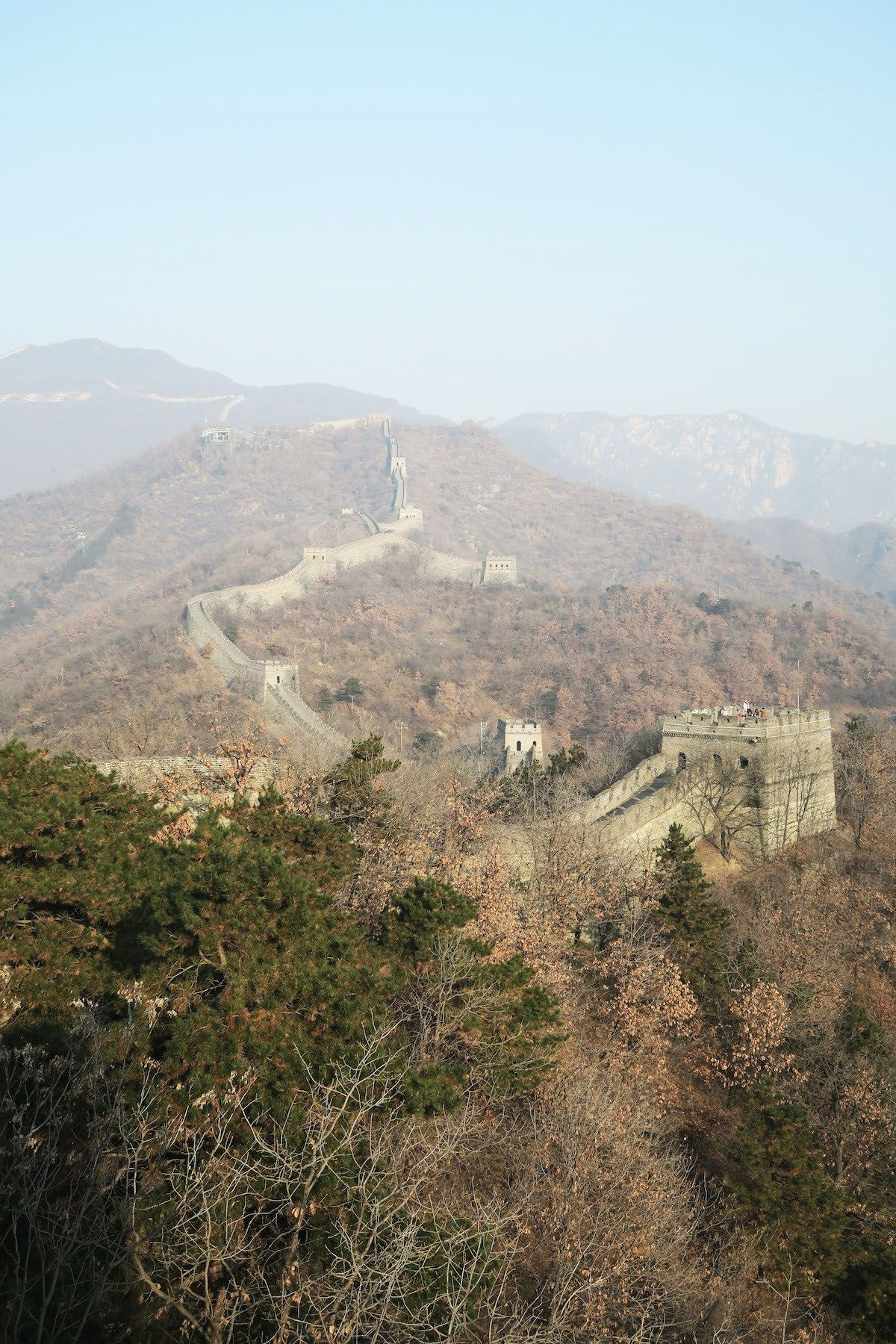 visiting the great wall of china during a layover asia on great wall chinese restaurant id=51320