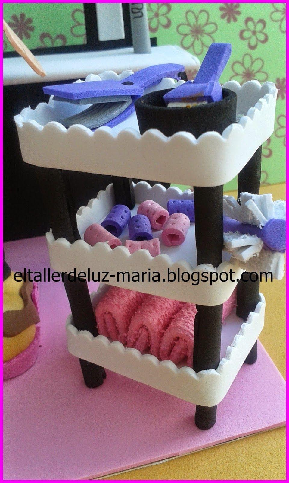 Todo tipo de manualidades en goma eva. Ideal para regalos y detalles ...