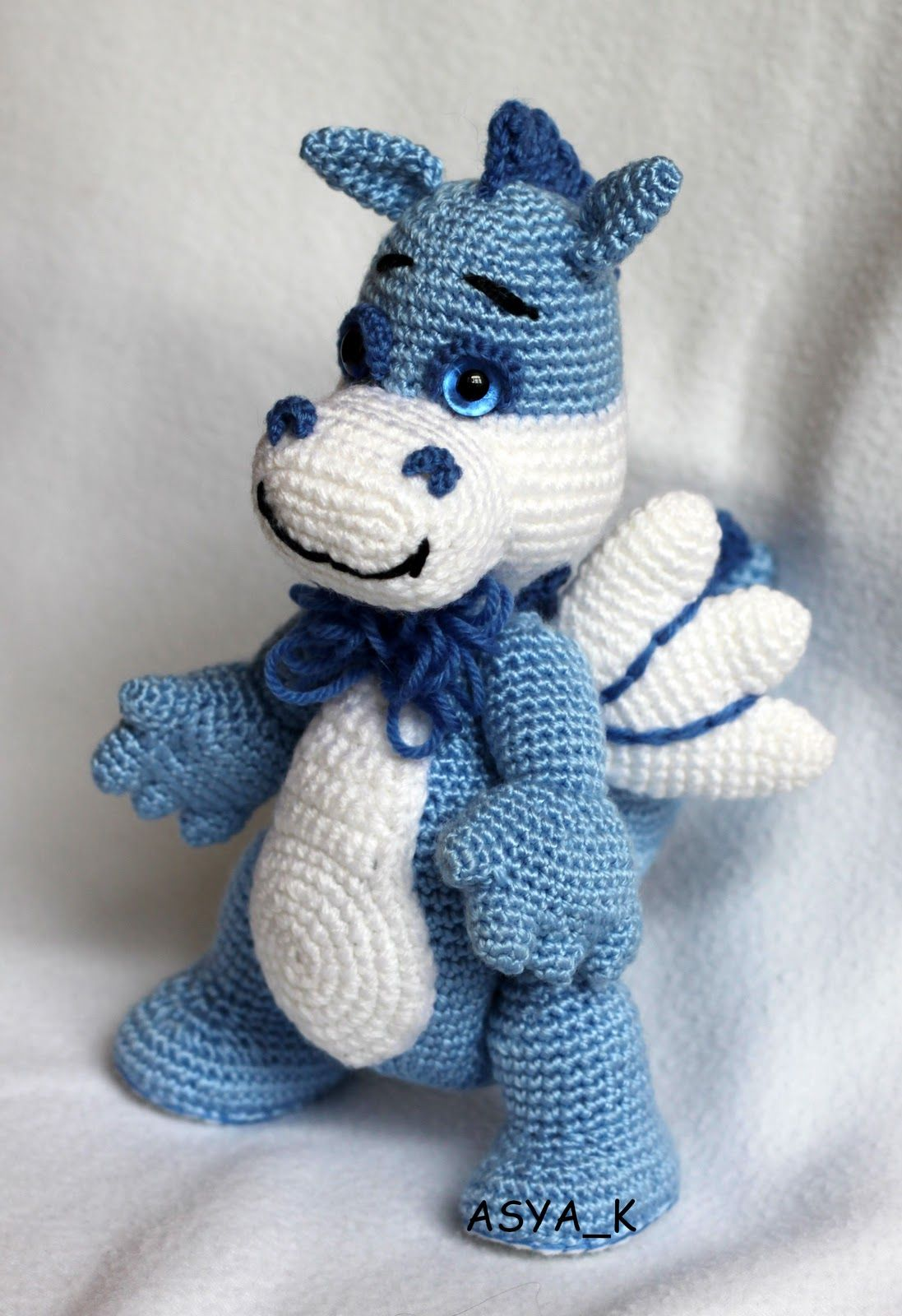 Crochet dragon | AMIGURUMI | Pinterest | Dragones, Patrones ...