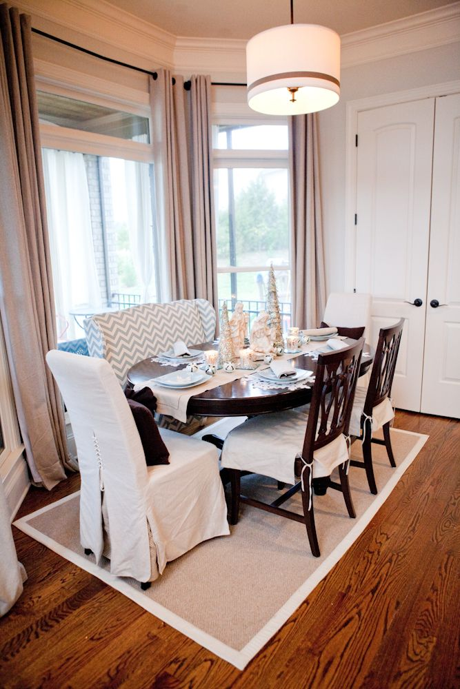 Dining Room With Settee  Decorating  Pinterest  Settees Room Simple Dining Room Table With Settee Decorating Design