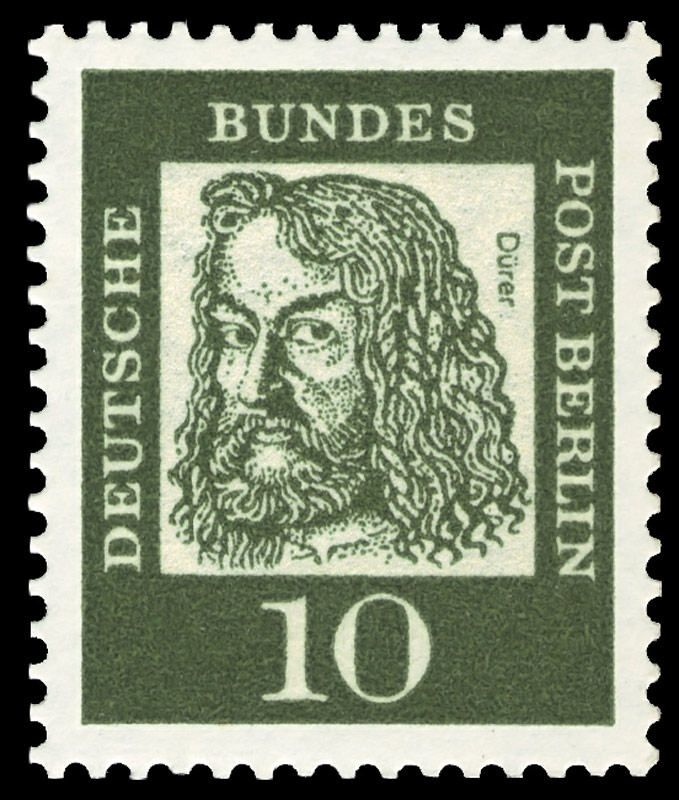 Deutsche Post Berlin Dürer stamp 1961 Postage stamps