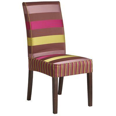 Dana Parsons Chair Slipcover   Bold Stripe
