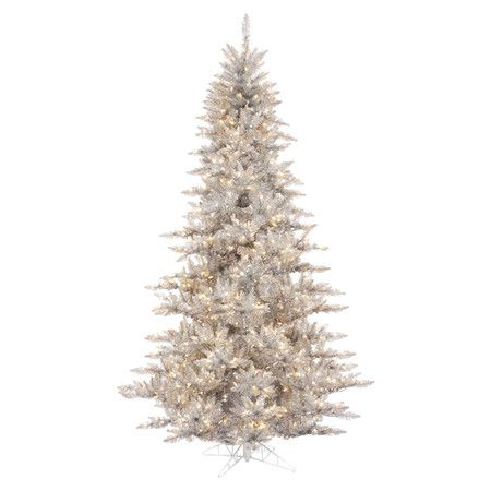 Found it at AllModern - 55\u0027 Prelit Fir Artificial Christmas Tree in