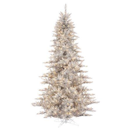 Found it at AllModern - 55\u0027 Prelit Fir Artificial Christmas Tree in