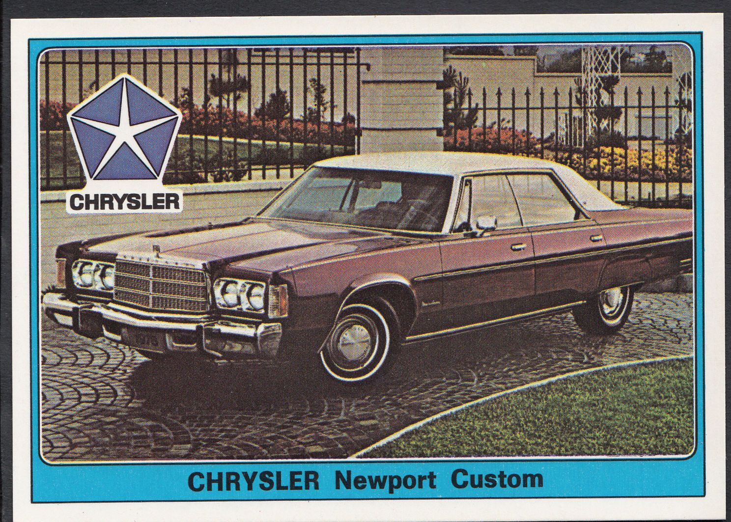 Panini Super Auto 1977 Sticker - No 79 - Vintage Car - Chrysler Newport Custom | eBay