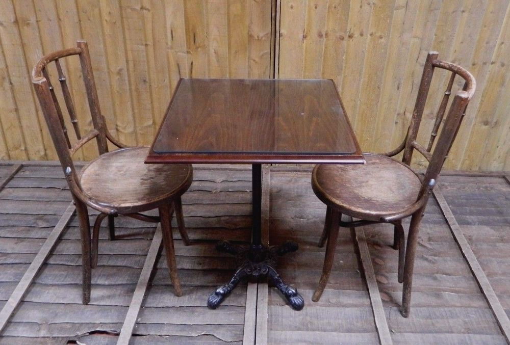 cafe furniture job lot cast iron tables bentwood chairs