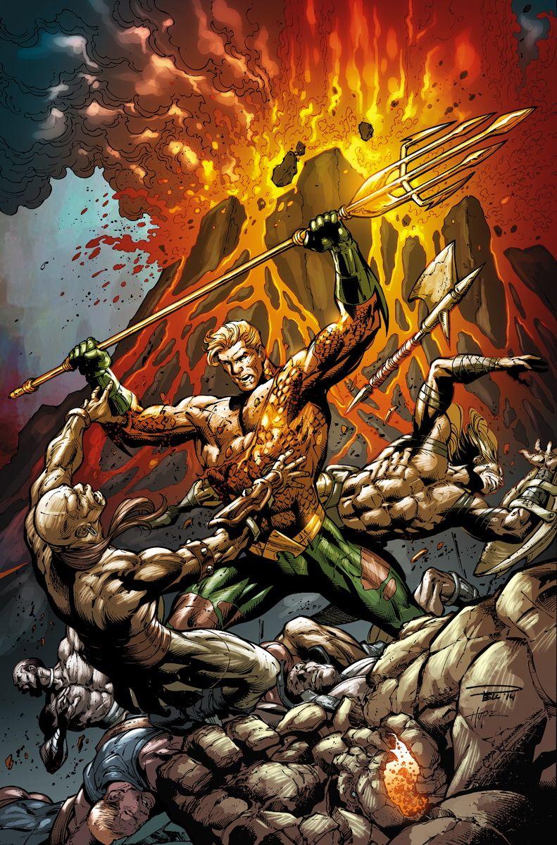 #Aquaman #Fan #Art. (AQUAMAN #40 Cover) By: PAUL PELLETIER and SANDRA HOPE. ÅWESOMENESS!!!™ ÅÅÅ+
