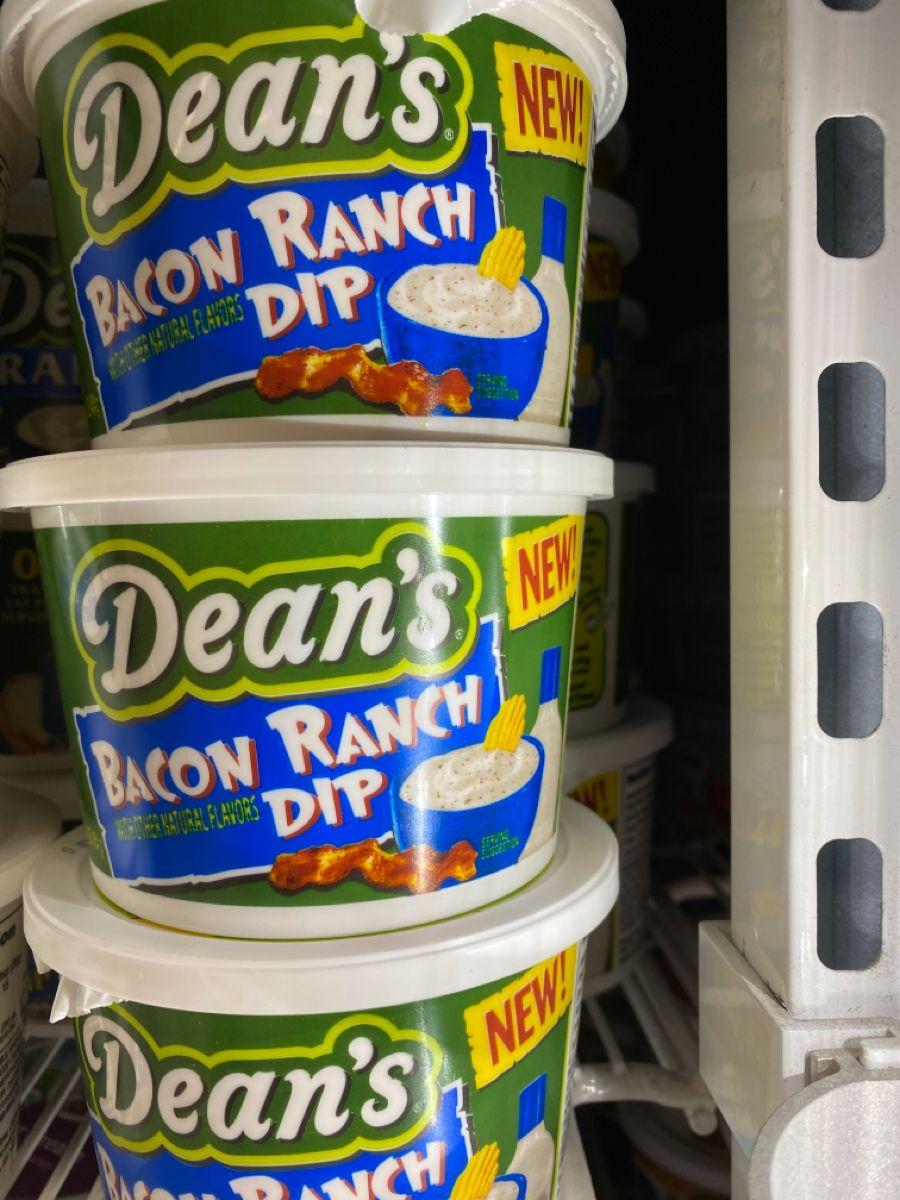 Dean's bacon ranch dip in 2020 Bacon ranch dip, Ranch