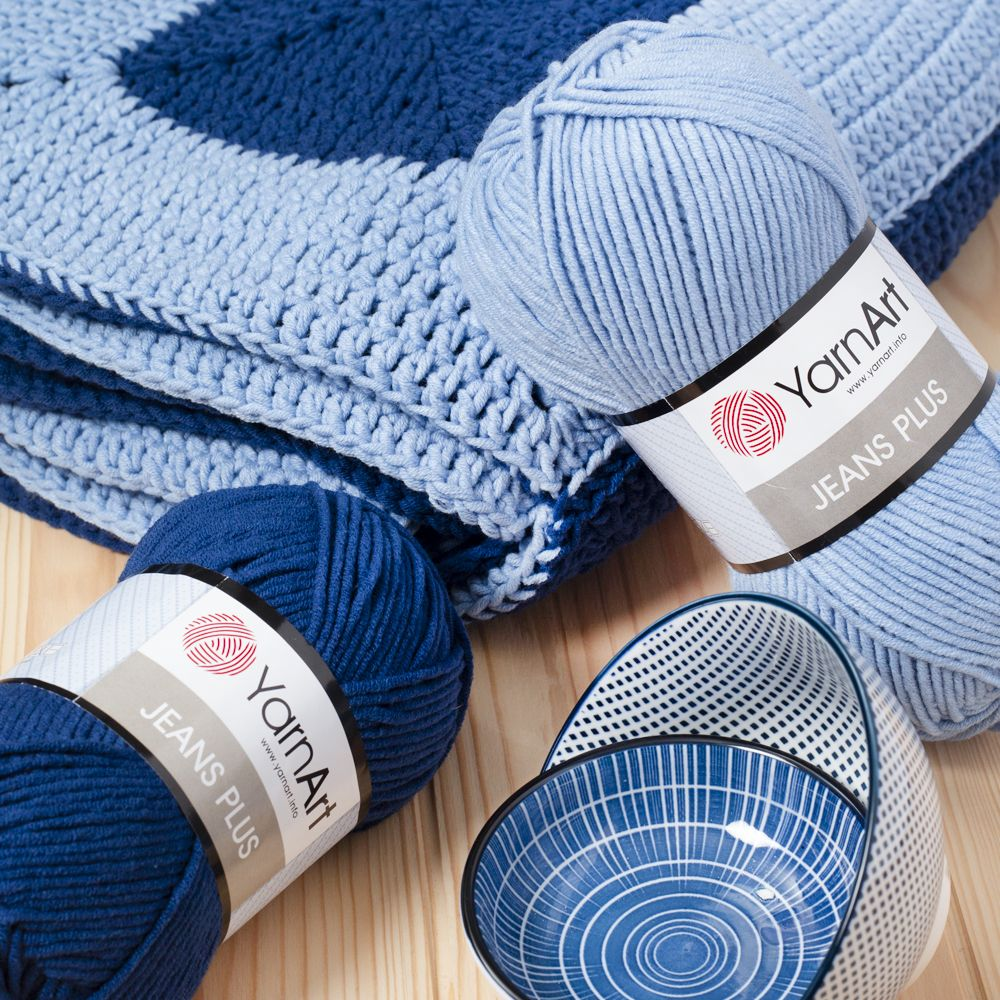 Yarnart Jeans Plus Cotton Yarn Is A Thicker Alternative To Your