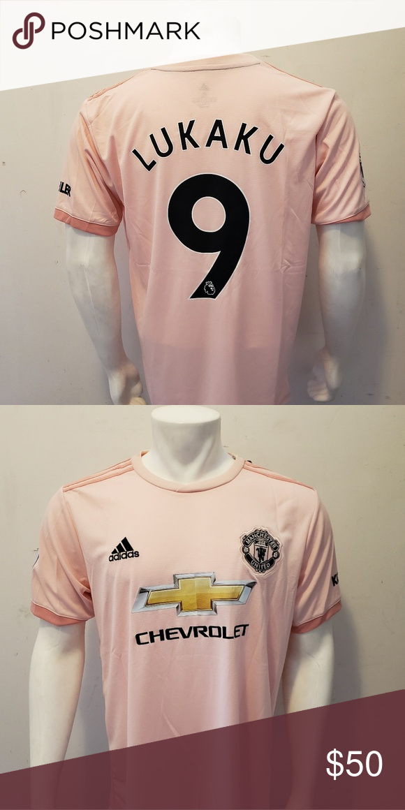 Lukaku Manchester United Third Away Fan Jersey Lukaku Manchester