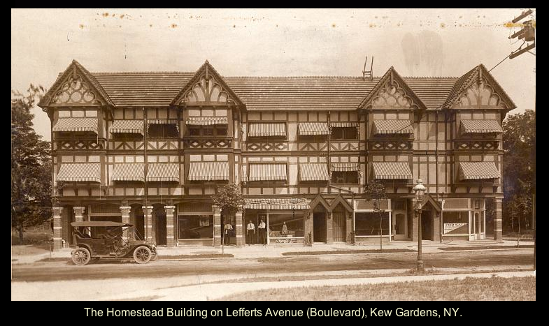 The Homestead Building On Lefferts Blvd Kew Gardens Kew Gardens Grand Central Station Queens Nyc