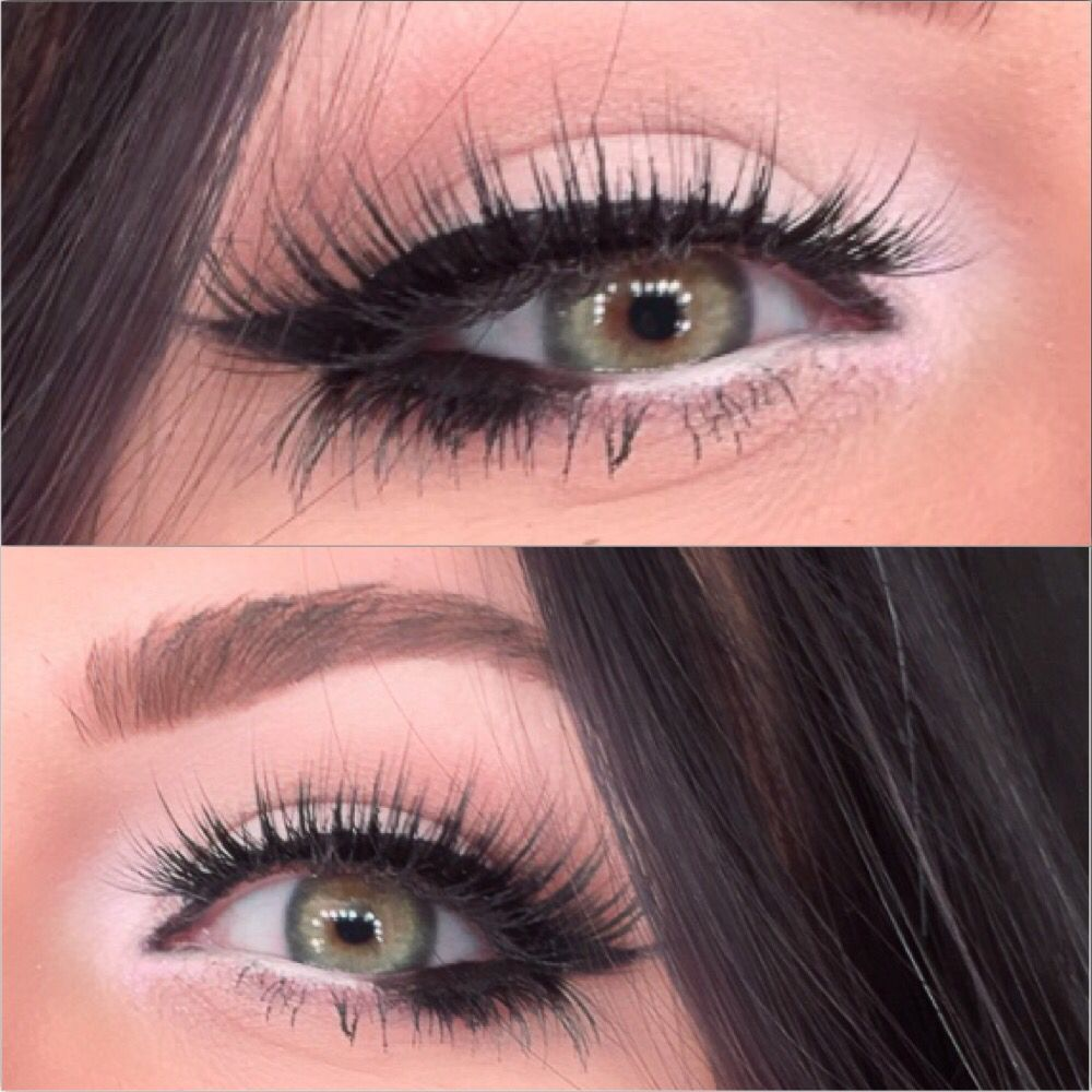 White Shadow In The Inner Corner Of The Eye Makeup With Images