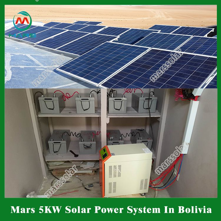 5kw Solar System In Bolivia In 2020 Solar Solar System System