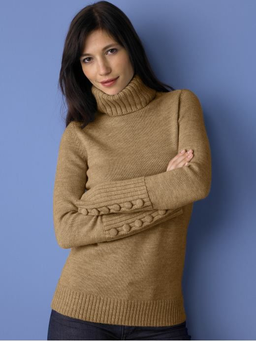 Women in Turtlenecks | women: Merino wool turtleneck sweater ...