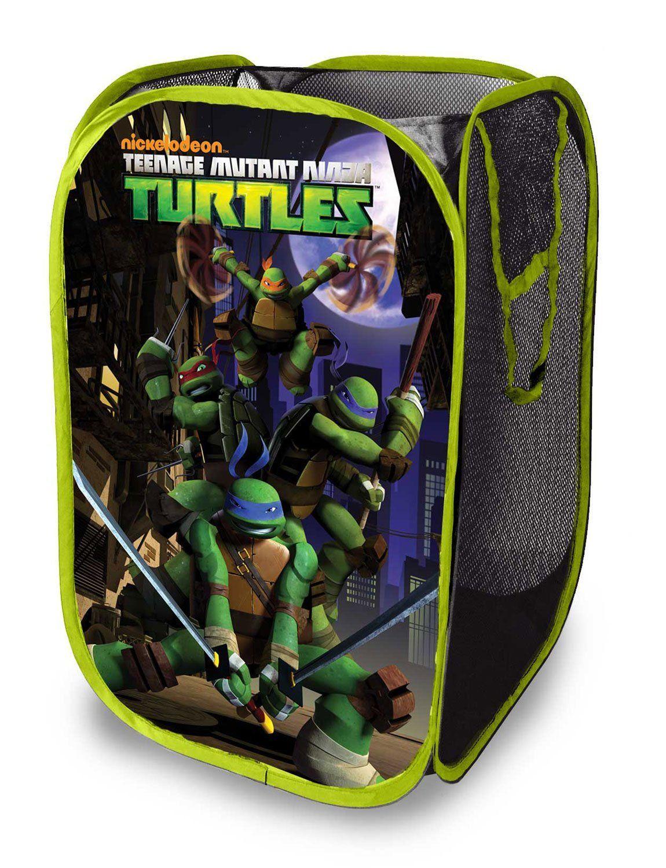 Amazon nickelodeon teenage mutant ninja turtles pop up hamper
